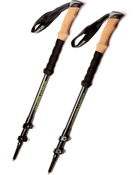 Hiker Hunger Carbon Fiber Trekking Poles Review