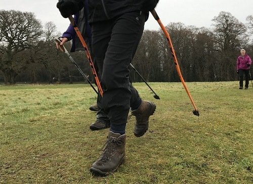 Nordic Walking Isn't Requires Technique