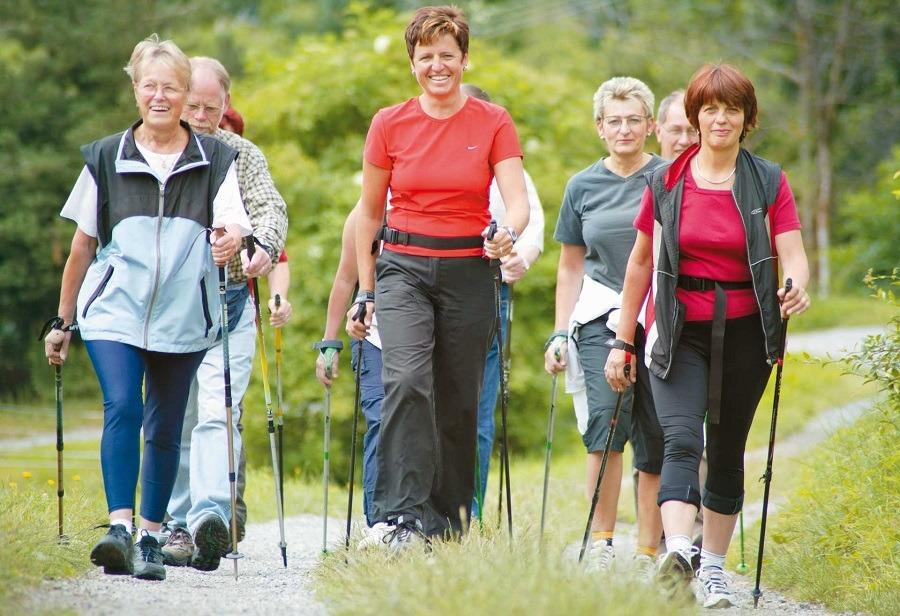 Incredible Health Benefits Of Nordic Walking